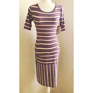 LuLaRoe Striped Design Dress